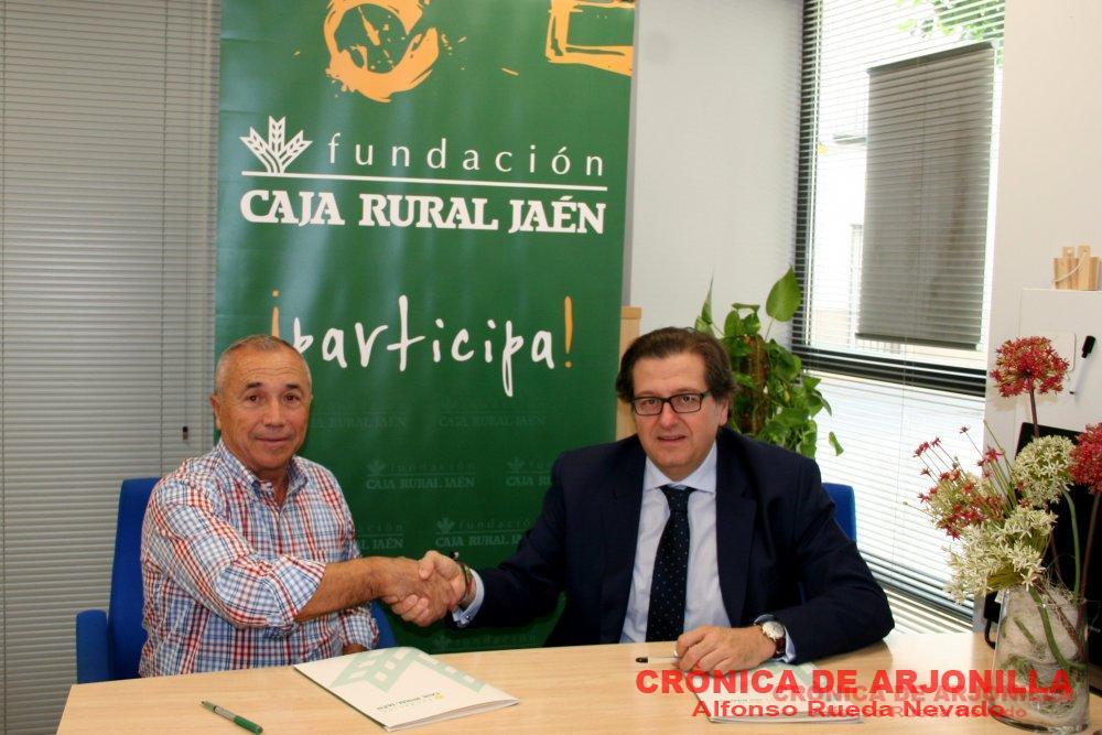 El club ciclista arjonilla subvencionado por la fundaci n for Caja rural jaen oficinas